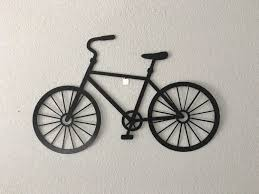 bicycle bike wall hanging art metal bicycles inside newest metal bicycle wall art on metal bike wall art with displaying gallery of metal bicycle wall art view 4 of 15 photos