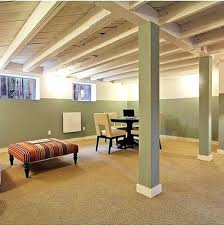 Unfinished basement ceiling fabric Cinder Block Wall Modern Unfinished Basement Ceiling Cover Using Fabric Chuck Milligan Ceiling Large Size Of Ceiling Unfinished Basement Ideas Upgrade Cheap And