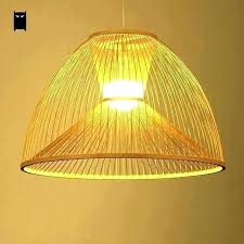 wicker pendant light. Bamboo Wicker Pendant Light S