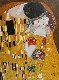 Il Bacio Di Klimt Copia