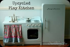 Upcycled Kitchen Huckleberry Love Upcycled Play Kitchen
