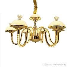 modern elegant gold color 4 arms 7 arms aluminum k9 crystal chandelier re cristal led lighting fixture for dinning living bedroom wood chandelier