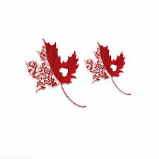 3d maple leaf colorful flowers art waterproof temporary tattoo sticker for