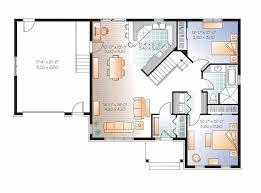 Glamorous Modern Open Floor Plans For Homes 12 Unique Home Plan Modern Open Floor House Plans