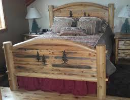 Arched Barnwood Bed 100% Solid Wood Bed Set