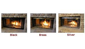glass replacement fireplace insert replacement glass