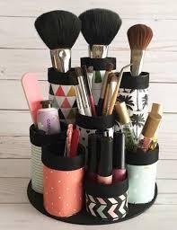 diy artsy makeup holder cups