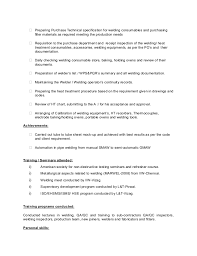 Qc Welding Inspector Sample Resume - Apigram.com
