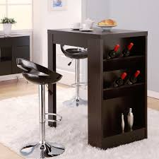 multi furniture. furniture of america miura modern cappuccino multistorage bar table multi