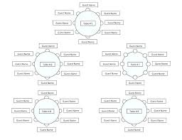 an wedding seating chart with round tables sle arrangement table seating chart template free sle