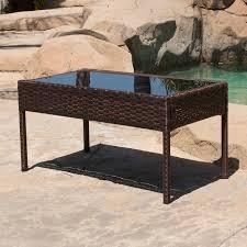 4PCS Outdoor Rattan Wicker Patio Set Garden Lawn Sofa Chair