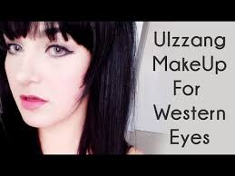 ulzzang makeup for western eyes tutorial
