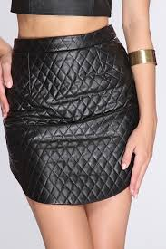 Black Quilted Faux Leather Skirt / Sexy Clubwear | Party Dresses ... & Black Quilted Faux Leather Skirt / Sexy Clubwear | Party Dresses | Sexy  Shoes | Womens Shoes and Clothing | AMI CLubwear Adamdwight.com