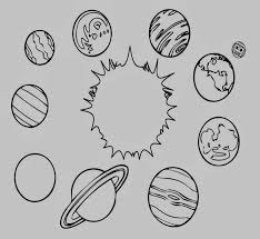 Free Printable Science Coloring Pages Solar System Color Page
