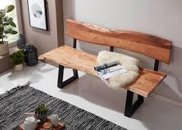 Baumkante Tisch Mit Bank
