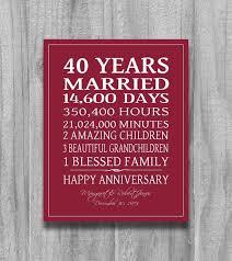 brilliant ruby wedding gift ideas 1000 ideas about ru wedding anniversary gifts on