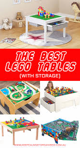 the best lego tables with storage