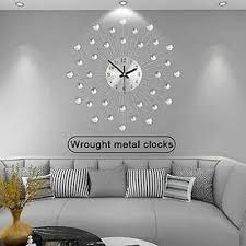modern luxury large wall clock quartz