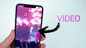 lock screen wallpaper on iphone