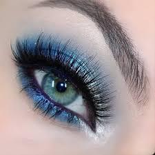 blue dress makeup ideas