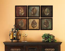 art for the dining room. Contemporary Dining Room Wall Art Ideas » Framed Leaves For The A