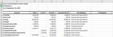 Excel Financial Statement Financial Statements In Excel Getting Beauty From The Beast