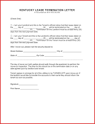cky lease termination form 30 day notice eforms free fillable forms