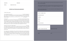 Sample Talent Release Form The Complete Guide To Actor Release Forms FREE Template 22