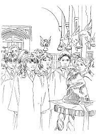 Small Picture Kids n funcom 24 coloring pages of Harry Potter and the