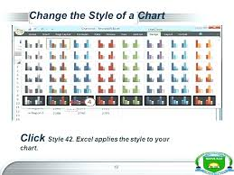 Chart Style 42 25 Disclosed Style 42 Excel