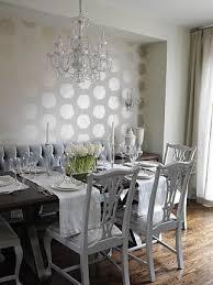 dining room sarah richardson design osh beautiful metallic wallpaper