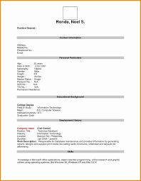 Resume Rough Draft Example Best Of Printable Resume Template