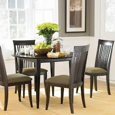 simple dining room table decor. Dining Room:A Stunning Room Centerpiece With Black Chairs, Glass Top Table And Simple Decor R