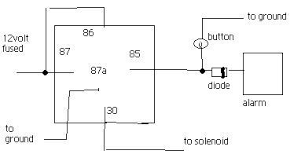 wiring diagram for door poppers wiring diagram and schematic which wire do i use help car alarm please honda civic forum