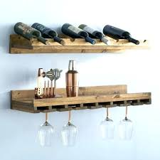 wooden wine glass rack wall mounted wine glass rack wall mount wood wine rack 2 piece