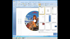 024 Dvd Cover Template Word Ideas Singular Case Layout