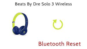 Beats Studio Blinking Red Light Beats By Dre Solo3 Solo 3 Wireless Bluetooth Reset Reboot Repair Troubleshoot Headphones