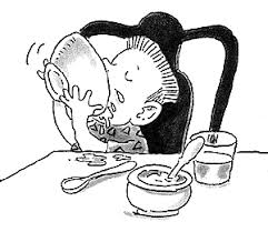 Image result for slurping soup, cartoons