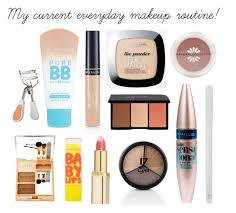 my everyday makeup routine by sophiesayshi liked on polyvore