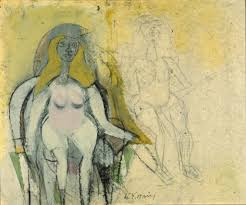 willem de kooning seated woman 1950 ars art resource