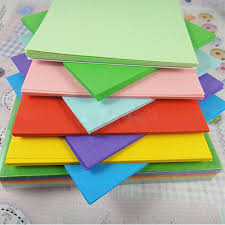 100pc Origami Square Paper Double Sided Coloured Craft Diy Small Square Colored PaperL