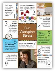 Personal Best Posters Ease Workplace Stress