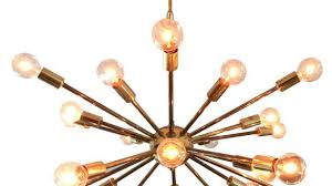 classy brass sputnik chandelier vintage american midcentury for at 1stdibs