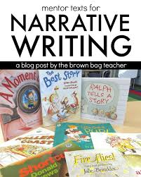 best writing mentor texts ideas mentor texts  great suggestions for narrative writing mentor texts i especially love the anchor chart and book