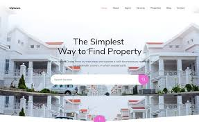 Uptown Free Bootstrap 4 Html5 Real Estate Website Template