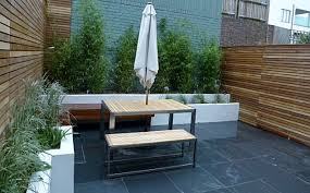 Small Picture slate paving patio courtyard small garden design clapham london