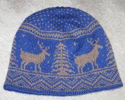 Ravelry Frolicking Deer Hat Pattern By Kat Mcab