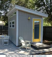 diy garden office plans. 8x12 modern shed plans diy office u0026 studio designs diy garden o