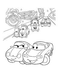 Free Coloring Pages Disney Cars L L L L L L