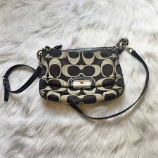 Coach Kristin Signature East-West Crossbody Purse